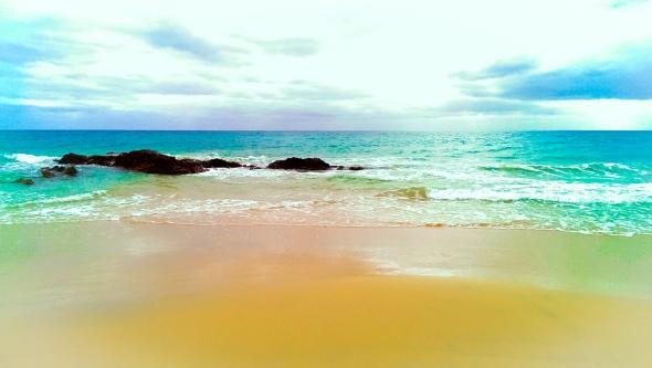 Plaża w Costa Calma.